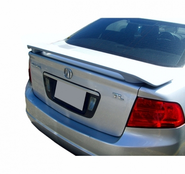 2004-2008_Acura_TL_Factory_Style_2_Post_Rear_Deck_Spoiler