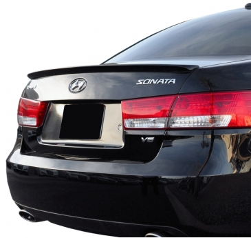 2006-2010 Hyundai Sonata Factory Style Flush Mount Rear Deck Spoiler
