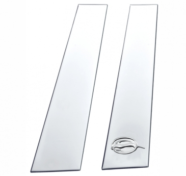 2006-2013_Chevrolet_Impala_Stainless_Steel_Pillar_Post_Moldings
