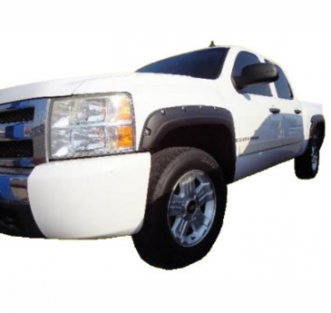 2007-2013_Chevrolet_Silverado_1500_Short_Bed_Rivet_Style_Fender_Flares