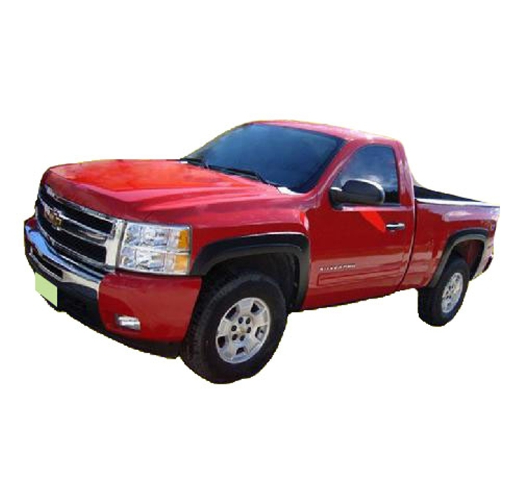 2007-2014_Chevrolet_Silverado_2500_Long_Bed_Fender_Flares_Smooth