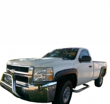 2007-2014_Chevrolet_Silverado_2500_Long_Bed_Rivet_Style_Fender_Flares