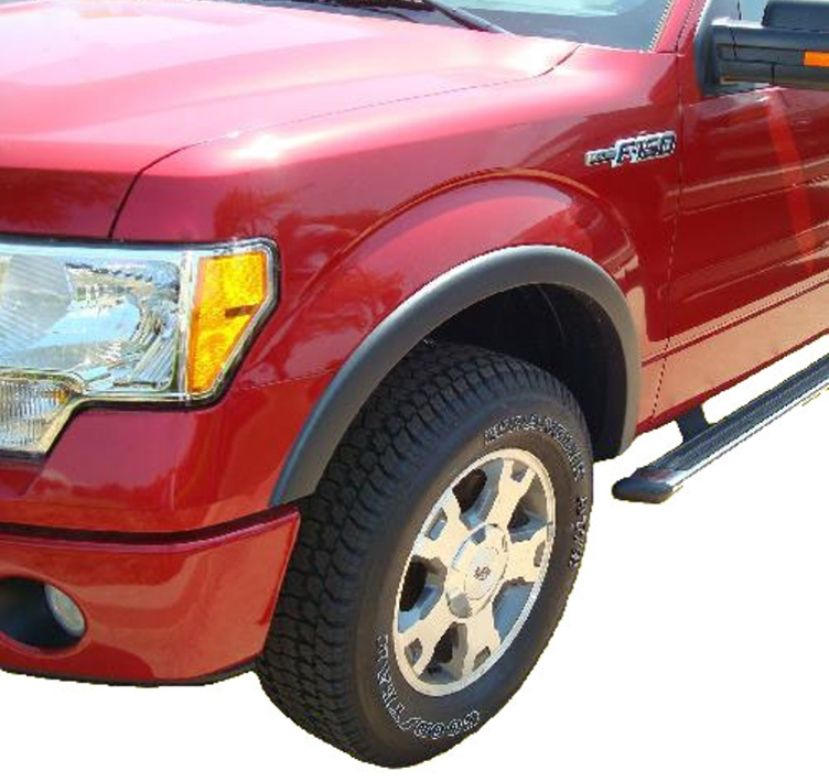 2009-2014_Ford_F-150_Fender_Flares_Smooth