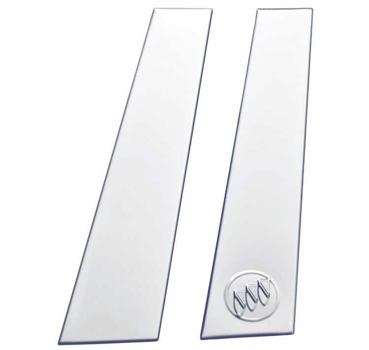 2011-2017_Buick_Regal_Stainless_Steel_Pillar_Post_Moldings