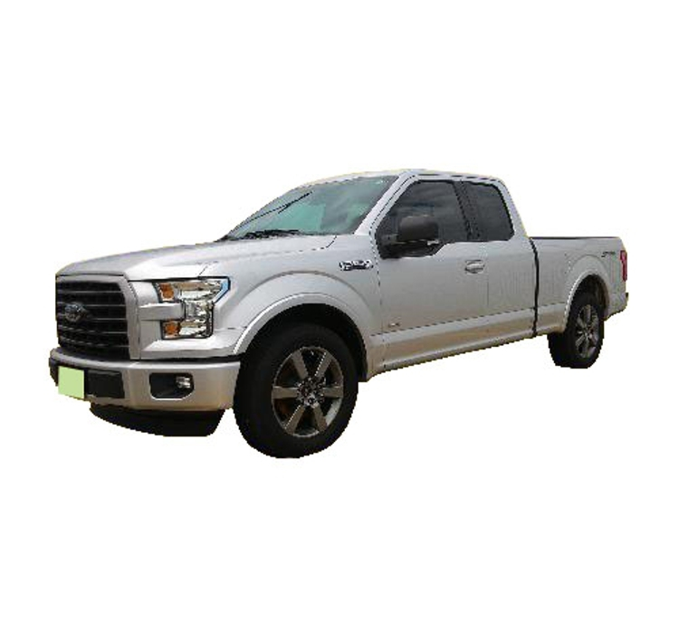 2015-2017_Ford_F-150_Fender_Flares_Smooth